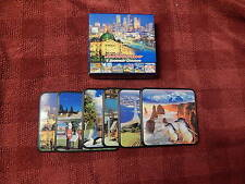 New listing New in Box Lot of 6 Coasters Melbourne Australia Collection - Ascool