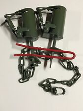 2 Powder Coated FPS DP Dog Proof Coon Traps & DP Setter Trap Raccoon NEW SALE