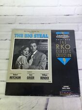 The Big Steal LD Laserdisc RKO Classic Collection Black White 1990 SEALED NEW