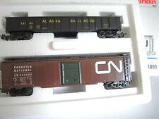 Märklin 4859  US Güterwagen- Set  Alaska USA     Top !