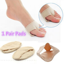 1 Pair Ball Foot Gel Pads Cushions Metatarsal Forefoot Support Insoles Hard Skin