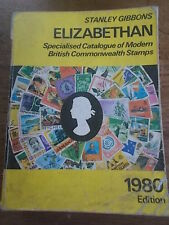 1980 STANLEY GIBBONS ELIZABETHAN Catalogue of Modern British Commonwealth Stamps