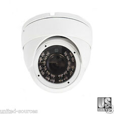 4-in-1 TVI/CVI/AHD 1080P Turret dome CCTV Camera 3.6mm IR 75feet Day Night IP66.