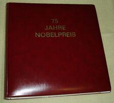 75 Jahre Nobelpreis, ABO-Motivsammlung: 41 komplett bestückte Vordruckblätter