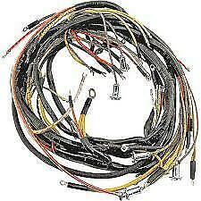 1951 Ford Car ( Convertible ONLY ) Body wiring Harness / W turn Sig. wire