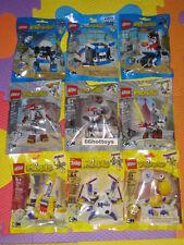 LEGO MIXELS Series 7 CARTOON NETWORK COMPLETE SET OF 9 PACKS NEW