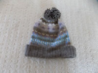 NEW AUTHENTIC MARC BY MARC JACOBS WOOL MOHAIR KNIT POM BEANIE BROWN BLUE PURPLE