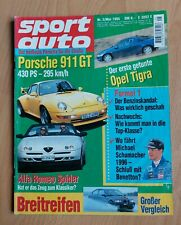Sport Auto 5/1995 - Porsche 911 - Alfa Romeo Spider - Lancia Delta - Honda NSX-R