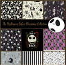 Nightmare Before Christmas 100% Cotton Fabric, Fat 1/4, 1/2 Metre, Metre