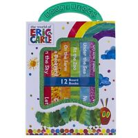 NEW World of Eric Carle 12 Board Books Early Learning Collection Kids Gift Set!