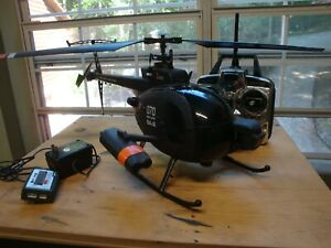 Helicopter with radio and charger