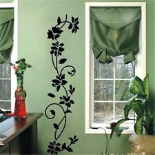 Creative Wall Sticker Flowers Vine Removable Mural Decal Art Decor Stickers YU