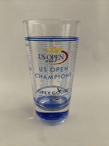 2017 US Open Champions Tennis Grey Goose Cup, Clear, Brand New, Collectible!