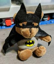 "8"" Batman Teddy Bear Plush Justice League Stuffed Animal"
