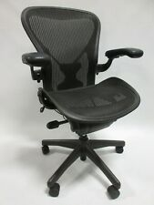 Herman Miller Aeron Chairs Size B Fully Adjustable Posture Fit