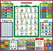 11 Educational Posters For Toddlers & Kids Perfect Children Preschool Kindergart