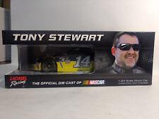 Rare Nascar Tony Stewart #14 Code 3 Associates 2016 Chevy SS 1:24 Scale Diecast