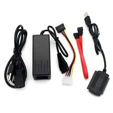 USB 2.0 External Hard Drive Cable Adapter Kit Desktop Laptop to SATA IDE SSD AE