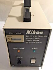 Nikon Hbo 100 Fluorescence Power Supply With Hour Meter