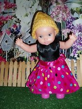 "Zapf Creation Dancing Dani Doll 15"" - -New Dress"