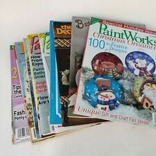 17 Decorative Painting Tole Paint Magazines Books Paintworks Crafts n Things Guc