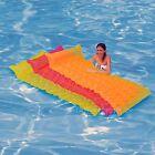 Intex Tote 'N Float Wave Mat Inflatable Floating Swimming Pool Raft Float Tube