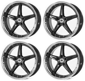 "BK993 19"" Wider rears Alloy Wheels - 5x100 5x120   9.5x19"