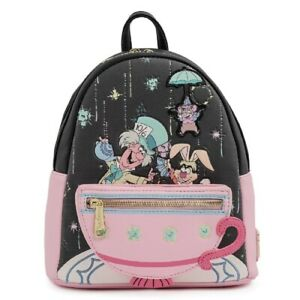 Loungefly Disney Alice In Wonderland Very Merry Unbirthday To You Mini Backpack