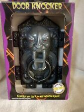 Vintage 1996 gargoyle door knocker