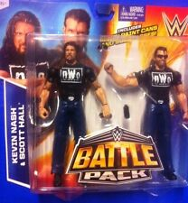 "WWE Mattel NWO KEVIN NASH & SCOTT HALL BATTLE PACK - 6/7"" FIGURES"