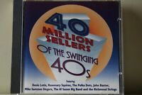 40 Million Sellers of The Swinging '40's CD  Royal Mail 1st Class FAST & FREE