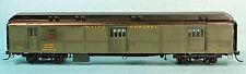 MAINE CENTRAL RPO/BAGGAGE HO Model Railroad Passenger Car Kit Brass Sides BC241