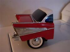 1957 CHEVY BelAir RADIO VINTAGE COLLECTIBLE AM FM Choose RED or BLACK or AQUA