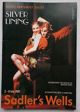 PACIFIC NORTHWEST BALLET.SILVER LINING.SADLER'S WELLS PROGRAMME 2002.J KERN