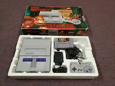 Super Nintendo Entertainment System Super Nes Donkey Kong Set SNES