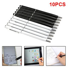 10PCS PRO STYLUS BALL PEN FOR USE IPHONE IPAD SAMSUNG HTC SONY TABLET NEW