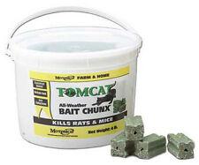 Tomcat 32444 4 Lb, 1 oz,  64 ct Chunx Mice and Rat Rodent Bait Chunks
