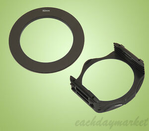 62mm 62 Adapter Ring + Filter Holder Mount for Cokin P Series - UK stock