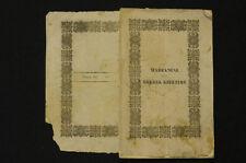Libri Antich Cholera Guerra Medicina antica Marianini Colera asiatico 1836