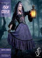 M2110 Sewing Pattern Costume Night Herbalist Jacket Mock Corset Skirt Petticoat