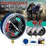 4 x Motorcycle Vacuum Carburetor Carb Synchronizer Tool Balancer Gauge Meter