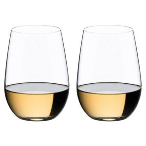 Riedel O Riesling/ Sauvignon Blanc Stemless Wine Glasses, Set of 2