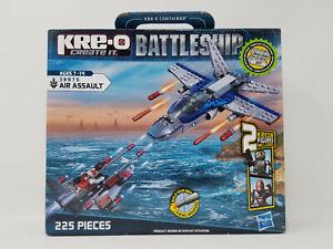 KRE-O BATTLESHIP AIR ASSAULT #38975 225 PIECES + KREON ALIEN & PILOT FIGURES NOS