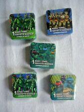 Teenage Mutant Ninja Turtles Kids Magic Washcloths Lot Of 5