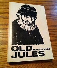 020 Vintage Book Old Jules Mari Sandoz Bison Paper Book 1962