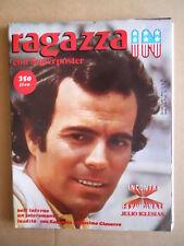 RAGAZZA IN Fotoromanzo  n°10 1979 Maxi Poster Julio Iglesias - Ciavarro [G595]