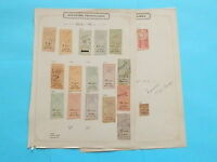 INDO-CHINA GREFFE INCREDIBLE OLD REVENUE ON PAGES DR SCHULTZ ESTATE !!9147I