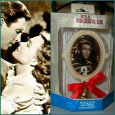 It's A Wonderful Life Enesco Christmas 'George Bailey' Porcelain Ornament NIB!