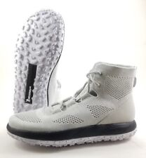 Under Armour Knit Fat Tire Michelin WildGripper Boots, White/Gray, Sz 9.5 $210