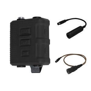 FCS V60 PTT Tactical Transmitter Receiver Connector AMP Comtac III HeadSet